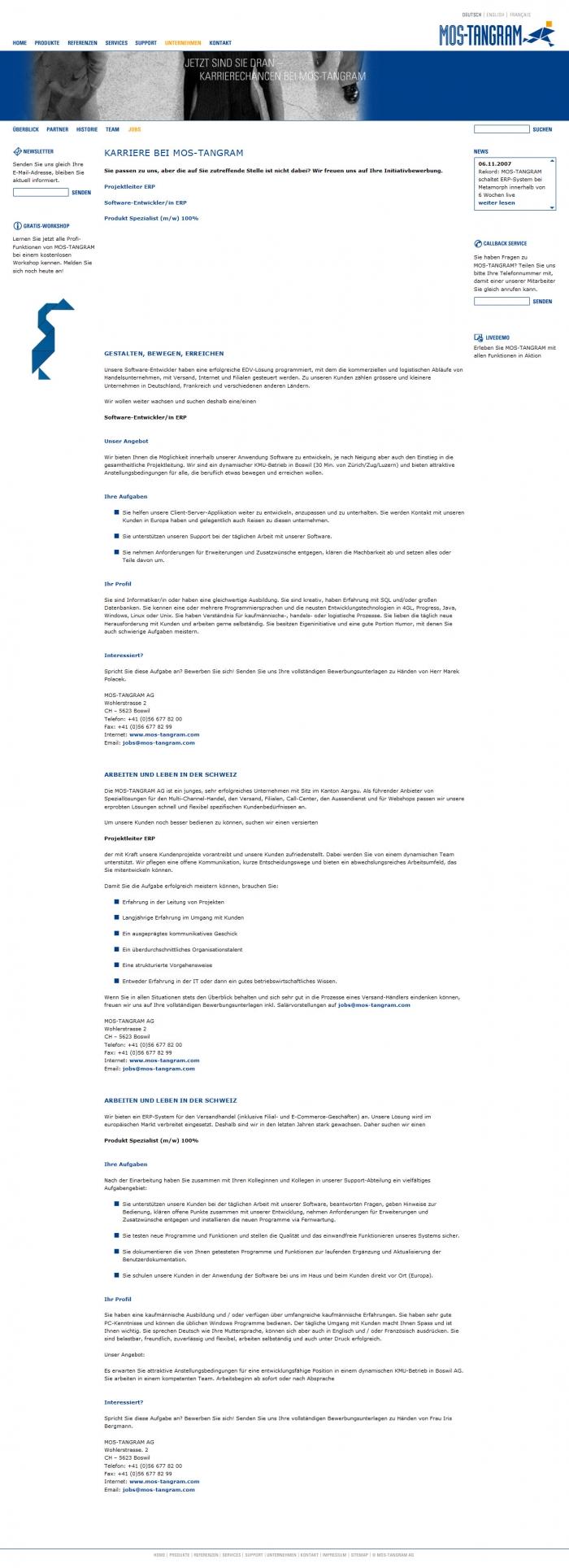 webseiten - hartmut - jentzsch - werbung - design - webseite ...